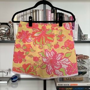 Lilly Pulitzer Shorts - Lily Pulitzer Floral Skort